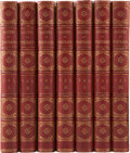 Books:First Editions, The Gallery of Portraits: With Memoirs. London: CharlesKnight, 1833-37. First edition. Seven octavo volumes. Each w...(Total: 7 Items)