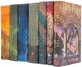 Books:First Editions, J.K. Rowling. Harry Potter and the: Sorcerer's Stone; Chamber ofSecrets; Prisoner of Azkaban; Goblet of Fire; Order of ... (Total:7 Items)