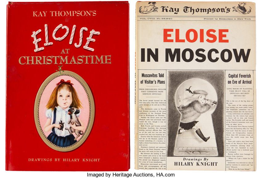Eloise At Christmastime.Kay Thompson Two Eloise Books Including Eloise At