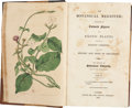 Books:Non-fiction, Sydenham Edwards. The Botanical Register: Consisting of ColouredFigures of Exotic Plants, Cultivated in British Gardens... (Total:19 Items)