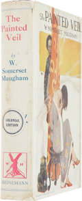 Books:First Editions, W. Somerset Maugham. The Painted Veil. London: Heinemann,[1925]. First English edition, second issue, first state. ...