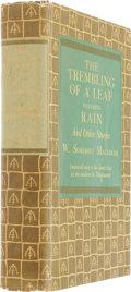 Books:Signed Editions, W. Somerset Maugham. The Trembling of a Leaf. New York:Doubleday, 1939. First thus. Inscribed by Maugham. P...