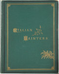 Books:First Editions, William B. Scott. Pictures by Italian Masters Greater andLesser. London: Virtue, Spalding, and Company, [1874]....