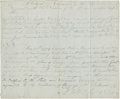 """Autographs:Military Figures, Marinus Willett Two Documents Signed. (1) One page signed """"M. Willett Lieut Col. [?]"""", 9"""" x 7.5"""", [ca. June 1779],... (Total: 2 Items)"""