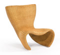 "Furniture , MARC NEWSON FOR IDEE. A ""Wicker"" Chair, circa 1990. 30 x 35 x 26-1/2 inches (76.2 x 88.9 x 67.3 cm). ..."