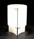 Decorative Arts, Continental:Lamps & Lighting, MASSIMO VIGNELLI. An Enameled Metal and Plastic Table Lamp, modelno. 526, circa 1970. 19-1/4 inches (48.9 cm) high. ...