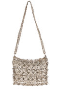 Decorative Arts, French:Other , PACO RABANNE. A Chain-Mail Handbag, circa 1970s. 16 inches (40.6cm) high, including handle. ...