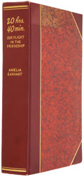 Books:Signed Editions, Amelia Earhart. 20 Hrs. 40 Min. Our Flight in theFriendship. The American Girl, First Across the Atlantic byAir,...