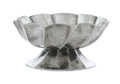 Silver Holloware, Continental:Holloware, JOSEF HOFFMANN FOR THE WIENER WERKSTÄTTE. A Hand-Wrought SilverPlated Brass Spiral Fluted Bonbonière, circa 1923-1924. ...