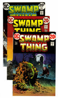Bronze Age (1970-1979):Horror, Swamp Thing Group (DC, 1973-74) Condition: Average NM-.... (Total:5 Comic Books)