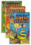Bronze Age (1970-1979):Cartoon Character, Richie Rich Gold and Silver #1-42 Group (Harvey, 1975-82)Condition: NM-.... (Total: 42 Comic Books)