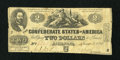Confederate Notes:1862 Issues, T42 $2 1862.. ...