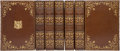 Books:Fiction, John Greenleaf Whittier. Works of John Greenleaf Whittier.Boston: Houghton, Mifflin and Company [1892], 1892. ... (Total: 7Items)