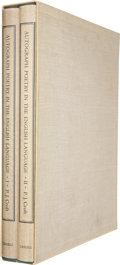 Books:First Editions, P. J. Croft. Autograph Poetry in the English Language -Complete in Two Volumes. London: Cassell, 1973. First ed...