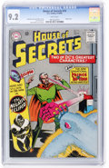 Silver Age (1956-1969):Superhero, House of Secrets #74 David N. Toth pedigree (DC, 1965) CGC NM- 9.2White pages....