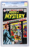 Silver Age (1956-1969):Horror, House of Mystery #155 David N. Toth pedigree (DC, 1965) CGC VF/NM9.0 Off-white pages....