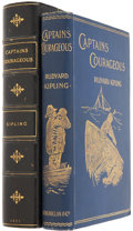 Books:First Editions, Rudyard Kipling. Captains Courageous. London: Macmillan andCo., 1897. First edition. ...