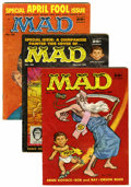 Magazines:Mad, Mad Group (EC, 1958-71) Condition: Average VG.... (Total: 15 ComicBooks)
