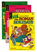 Bronze Age (1970-1979):Cartoon Character, The Roman Holidays #1-4 Group (Gold Key, 1973) Condition: AverageVF/NM.... (Total: 4 Items)