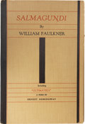 Books:First Editions, William Faulkner. Salmagundi. Milwaukee: The Casanova Press,1932.. First edition. Octavo. 53 pages. Number 175 of...