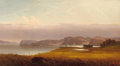 American:Hudson River School, The Hon. Paul H. Buchanan, Jr. Collection. JOHN WILLIAMSON(Scottish/American, 1826-1885). Autumn, Hudson River,1871...