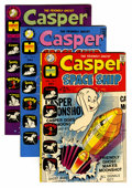 Bronze Age (1970-1979):Cartoon Character, Casper Spaceship #1-5 Group Plus (Harvey, 1972-73) Condition: Average VF/NM.... (Total: 8 Comic Books)