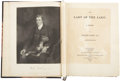 Books:First Editions, Sir Walter Scott. The Lady of the Lake. Edinburgh: Printedfor John Ballantyne and Longman by James Ballantyne a...