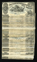 Obsoletes By State:Louisiana, Shreveport, LA- State of Louisiana $5 Mar. 10, 1863 Thirty-nine Examples. ... (Total: 39 notes)
