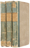 Books:First Editions, Sir Walter Scott. Kenilworth. Edinburgh: Printed forArchibald Constable and Co., 1821. First edition. Three octavo ...(Total: 3 Items)