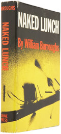 Books:Fiction, William S. Burroughs. Naked Lunch. New York: The GrovePress, 1959. First American edition. Publisher's black cl...