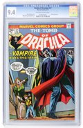 Bronze Age (1970-1979):Horror, Tomb of Dracula #17 (Marvel, 1974) CGC NM 9.4 Off-white to whitepages....