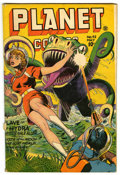 Golden Age (1938-1955):Science Fiction, Planet Comics #42 (Fiction House, 1946) Condition: GD/VG....