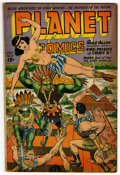 Golden Age (1938-1955):Science Fiction, Planet Comics #31 (Fiction House, 1944) Condition: VG....