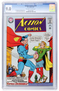 Silver Age (1956-1969):Superhero, Action Comics #354 David N. Toth pedigree (DC, 1967) CGC VF/NM 9.0 Off-white to white pages....