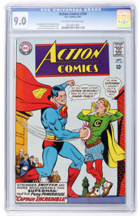 Action Comics #354 David N. Toth pedigree (DC, 1967) CGC VF/NM 9.0 Off-white to white pages