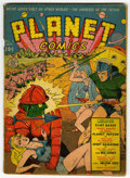 Golden Age (1938-1955):Science Fiction, Planet Comics #8 (Fiction House, 1940) Condition: GD/VG....