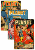 Golden Age (1938-1955):Science Fiction, Planet Comics Group (Fiction House, 1947) Condition: AverageGD/VG....