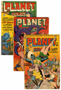 Golden Age (1938-1955):Science Fiction, Planet Comics Group (Fiction House, 1944-53) Condition: AverageGD....