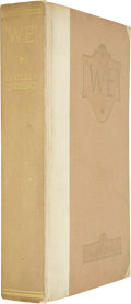 Books:Signed Editions, Charles A. Lindbergh. We. New York: G. P. Putnam's Sons,1927....
