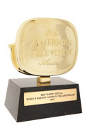 Movie/TV Memorabilia:Awards, George Schlatter's Laugh-In 25th Anniversary AmericanTelevision Award....