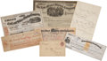 Autographs:Inventors, Western Rail and Mining Archive. Spanning the last thirty years of the nineteenth century, this exceptional lot contains sev... (Total: 7 Items)