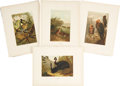 Antiques:Posters & Prints, Collection of Ten 19th Century Illustrations of Various Birds. 9.5x 12.5 inches.... (Total: 10 Items)