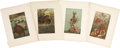 Antiques:Posters & Prints, Twenty-one 19th Century Illustrations of Reptiles and Fish. 9.5 x 12.5 inches.... (Total: 21 Items)