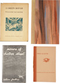 Books:First Editions, William Faulkner. Four Small Press Books, including: FatherAbraham. [N.p.]: Red Ozier Press, 1983. First editio... (Total:4 Items)