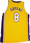 Basketball Collectibles:Uniforms, 2004-05 Kobe Bryant Game Worn Jersey. In his first year having toshoulder the load of carrying the Los Angeles Lakers afte...