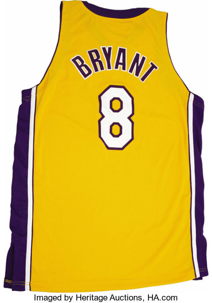 255406a3fe2 2004-05 Kobe Bryant Game Worn Jersey. In his first year having