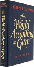 Books:Signed Editions, John Irving. The World According to Garp. New York: E. P.Dutton, [1978]. First edition. Signed by Irving. D...