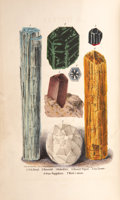 Books:Non-fiction, L. Feuchtwanger. A Popular Treatise on Gems, In Reference to Their Scientific Value. New York: D. Appleton, 1859...