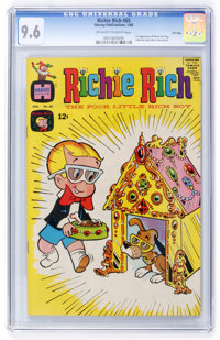 Richie Rich #65 File Copy (Harvey, 1968) CGC NM+ 9.6 Off-white to white pages