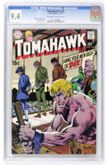 Bronze Age (1970-1979):Adventure, Tomahawk #126 (DC, 1970) CGC NM 9.4 Off-white to white pages....